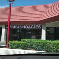 Photo taken at Laspada's Original Hoagies by David P. on 9/9/2012
