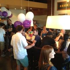 Photo taken at Village Burger Bar by Scott C. on 7/19/2012