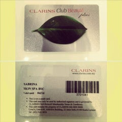 Photo taken at Clarins Skin Spa by Sabrina A. on 7/20/2012