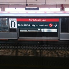 Photo taken at Jurong East MRT Interchange (NS1/EW24) by gunt R. on 3/16/2012