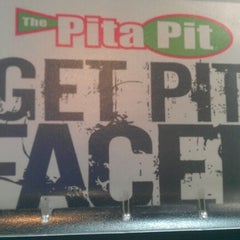 Photo taken at Pita Pit by Elizabeth H. on 7/7/2012