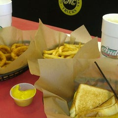 Photo taken at Andy's Burgers Shakes & Fries by Lisa J. on 1/28/2012
