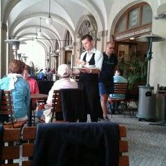 Photo taken at Malostranská Beseda by Tatiana L. on 5/5/2012