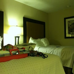 Photo taken at Holiday Inn Express Little Rock-Airport by Janelle G. on 3/19/2012