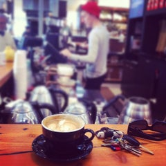 Photo taken at Ritual Coffee Roasters by Clay N. on 10/25/2011