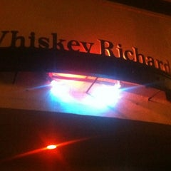 Photo taken at Whiskey Richards by Richard K. on 1/11/2012