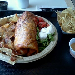 Photo taken at Baja Fresh by Paul L. on 3/9/2012