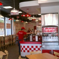 Photo taken at Five Guys by Troy B. on 9/29/2011