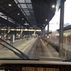 Photo taken at Gleis 9/10 by Ramon S. on 8/11/2012