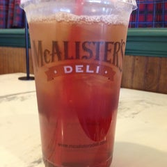 Photo taken at McAlister's Deli by Gail G. on 6/25/2012