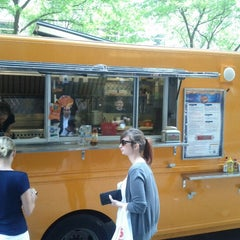 Photo taken at Grilled Cheese Nation Food Truck by Marco M. on 6/12/2012