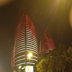 Photo taken at Flame Towers by КТ on 5/17/2012