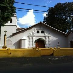 Photo taken at Iglesia La Niña María by Alejandro G. on 1/8/2012