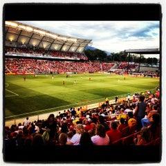 Photo taken at Rio Tinto Stadium by Lindsey on 7/22/2012