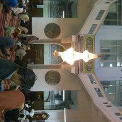 Photo taken at Masjid Cut Meutia by Dedi S. on 7/28/2012