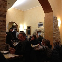 Photo taken at Il Grottino by Claudio M. on 12/30/2011