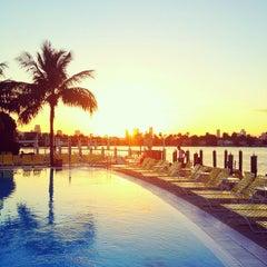 Photo taken at The Standard Spa, Miami Beach by Luke D. on 2/14/2012