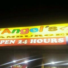 Photo taken at Angel's Hamburger by Jaypee C. on 1/12/2012