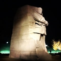 Photo taken at Martin Luther King, Jr. Memorial by Cat C. on 3/21/2012