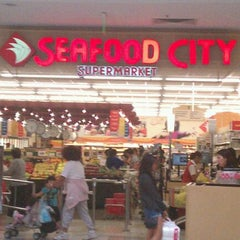 Photo taken at Seafood City Super Market by Sylvia D. on 10/16/2011
