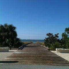 Photo taken at Windmark Beach by Meredith N. on 11/2/2011