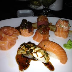 Photo taken at Lotus Japanese Fusion Cuisine by Fabio C. on 4/29/2012