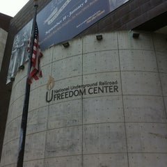 Photo taken at National Underground Railroad Freedom Center by robby on 7/13/2011