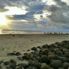 Photo taken at Pantai Panjang (Long Beach) by medy t. on 2/15/2012