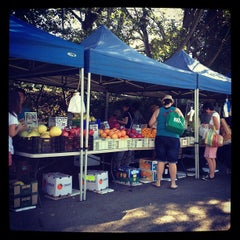 Photo taken at Davies Park Market by Rizz A. on 4/20/2012
