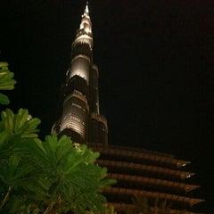 Photo taken at Burj Khalifa / Dubai Mall Metro Station محطة مترو برج خليفة / دبي مول by Rene S. on 5/19/2011