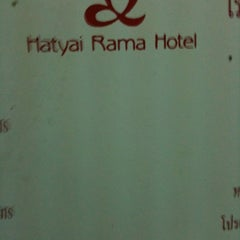 Photo taken at Hadyai Rama Hotel by Doll F. on 3/5/2012