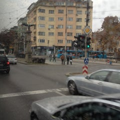 Photo taken at Bus station 1290 by Lubo M. on 11/24/2011