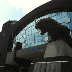 Photo taken at Bank of America Stadium by Tanner J. on 8/4/2012