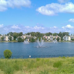 Photo taken at Lake outside of Publix by Maurice W. on 8/7/2012