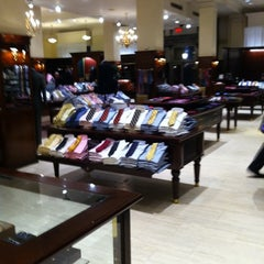 Photo taken at Brooks Brothers by Matthew H. on 1/6/2011
