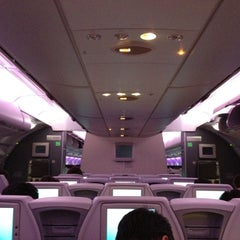 Photo taken at Air France - Flight AF 7 by Philippe G. on 12/20/2011