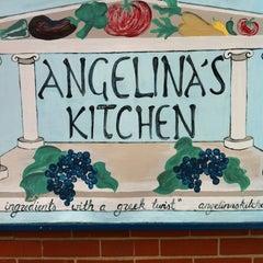 Photo taken at Angelina's Kitchen by Geoffrey T. on 5/18/2012