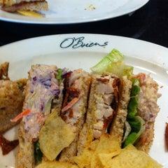 Photo taken at O'Briens Irish Sandwich Bar by David L. on 3/26/2012