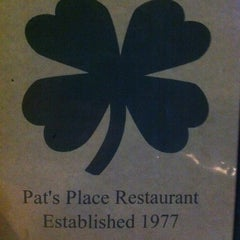 Photo taken at Pat's Place Restaurant by Nick on 2/12/2011