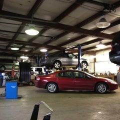 Photo taken at Wayne's Auto Svc by Justin B. on 3/1/2012