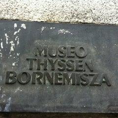 Photo taken at Museo Thyssen-Bornemisza by Julia R. on 11/15/2011
