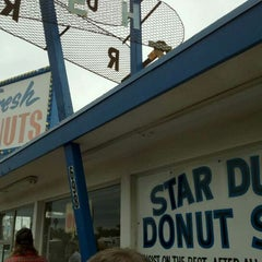 Photo taken at Stardust Donut Shop by frances on 11/12/2011
