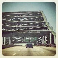 Photo taken at Piscataqua River Bridge by Sarah on 5/27/2012