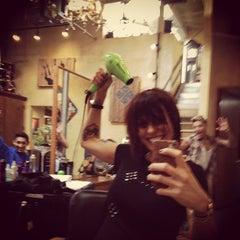 Photo taken at Christina Sanchez Hair Design @ gods&heros salon by Christina on 5/12/2012
