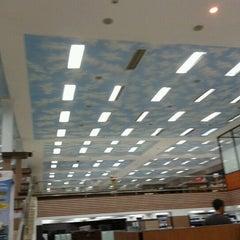 Photo taken at Fajar Agung Book Store by Vivi T. on 11/7/2011