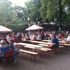 Photo taken at Pratergarten by Matteo G. on 5/21/2012