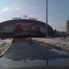 "Photo taken at Площадь перед ЛДС ""Кристалл"" by DAFFF on 4/1/2012"