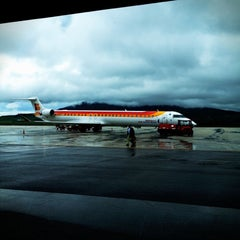 Photo taken at Aeropuerto de Pamplona (PNA) by Carlos J. on 5/19/2012