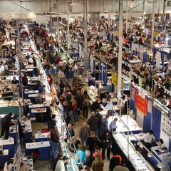 Photo taken at Donald E Stephens Convention Center by Inter G. on 12/9/2011