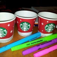 Photo taken at Starbucks by Charlie H. on 11/18/2011